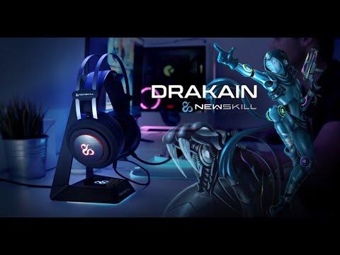 Auriculares Gaming RGB Newskill Drakain