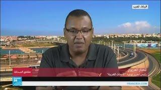 """""""المشكلة أن عمر بن حماد وفاطمة النجار هما من حركة دعوية تحاضر في الأخلاق في المغرب"""""""