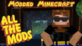 Modded Minecraft: ALL THE MODS! - Ep.25 - Shield Projector