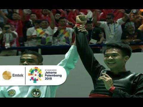 Detik - Detik Mendebarkan Komang Harik Adi Putra Atlet Pencak Silat Indonesia   Asian Games 2018