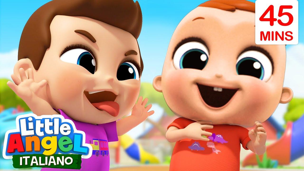 Giocando Insieme è Meglio!🧩🧑🏻🤝🧑🏻 Cartoni Animati con Gianni Piccino- Little Angel Italiano