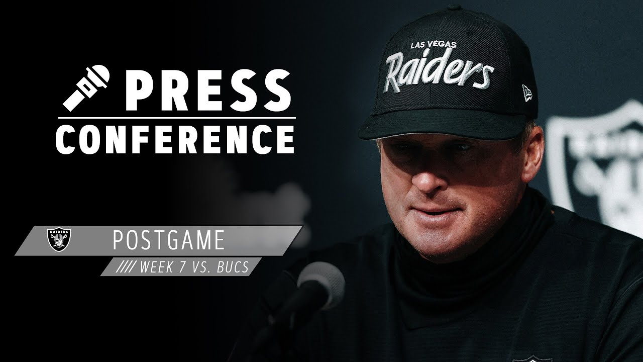 Gruden, Miller, Agholor, Littleton, Waller & Carr Postgame Pressers | Week 7 | Las Vegas Raiders