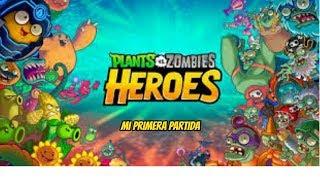 Plantas Vs Zombies Héroes - Mi Primera Partida - Cartoon Network
