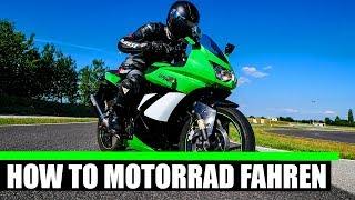 MOTORRAD ANFAHREN UND SCHALTEN