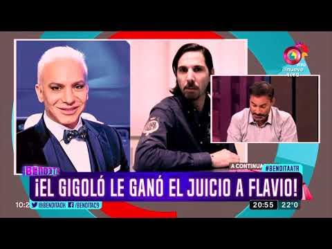 ¡El gigoló le ganó el juicio a Flavio!