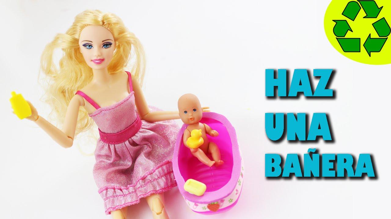 Diy miniatura ba era funcional para el beb de tu mu eca - Como hacer un cambiador para bebes ...