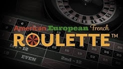 French Roulette™, American Roulette™ and European Roulette™ - Netent