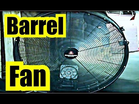 COUNTYLINE BARREL FAN NOISE 12 hours of AWESOME FAN WHITE NOISE w/ BLACK SCREEN = FAN SLEEP