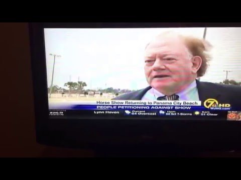WJHG TV Ch. 7 (NBC) CITIZENS PETITION AGAINST BIG LICK HORSE SHOW AT PANAMA CITY BEACH