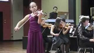 Lea Kristina Brückner, 12. Jahre, Meditation aus Thais von Massenet, Violine