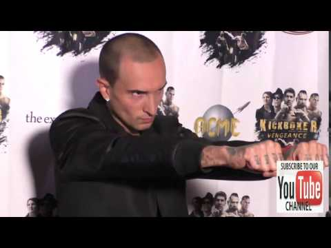 Luis Da Silva Jr at the Premiere Of RLJ Entertainment's Kickboxer Vengeance at iPic Theaters in West