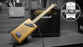 How to make an Electric Cigar Box Guitar/Ukulele (step by step)