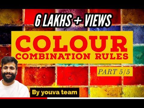 COLOUR COMBINATION RULES (colour scemes)