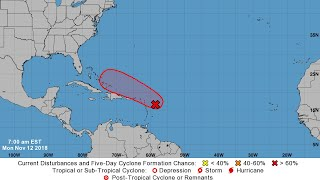 Hurricane center ups odds of tropical cyclone forming in Atlantic