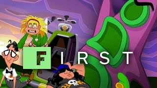 Day of the Tentacle Remastered Developer Commentary - IGN First