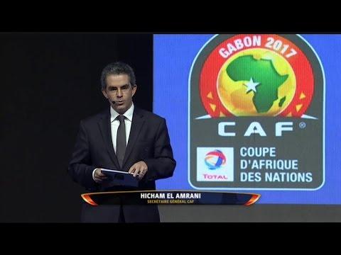 CAN 2017 - Afrique: Tirage au sort de la CAN Gabon (3/3)
