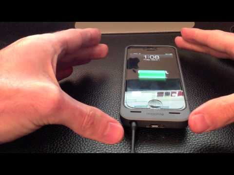 Mophie Helium Battery Pack For iPhone 5 Hands-On Review