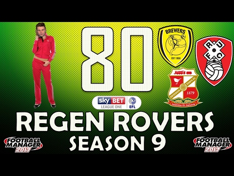 Regen Rovers | #80 Pink Track Suit! | Football Manager 2017 Create-A-Club Career