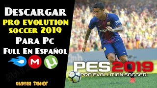 Como Descargar e Instalar Pro Evolution Soccer 2019 Para Pc Full En Español