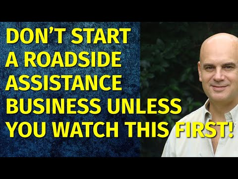 How To Start A Roadside Assistance Business | Including Free Business Plan Template
