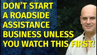How to Start a Roadside Assistance Business   Including Free Business Plan Template