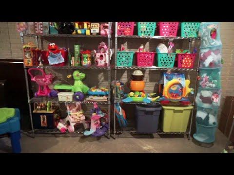 How I Do Toy Rotation & Toy Storage/Organization
