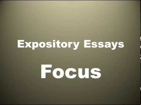 Focus In Expository Essays