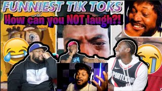 TIK TOKS you NEED to watch [TikTok Try Not To Laugh 6] REACTION!!