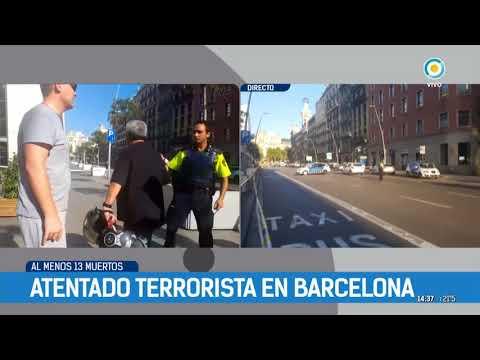 Atentado terrorista en Barcelona Flash 14.30 | #TPANoticias