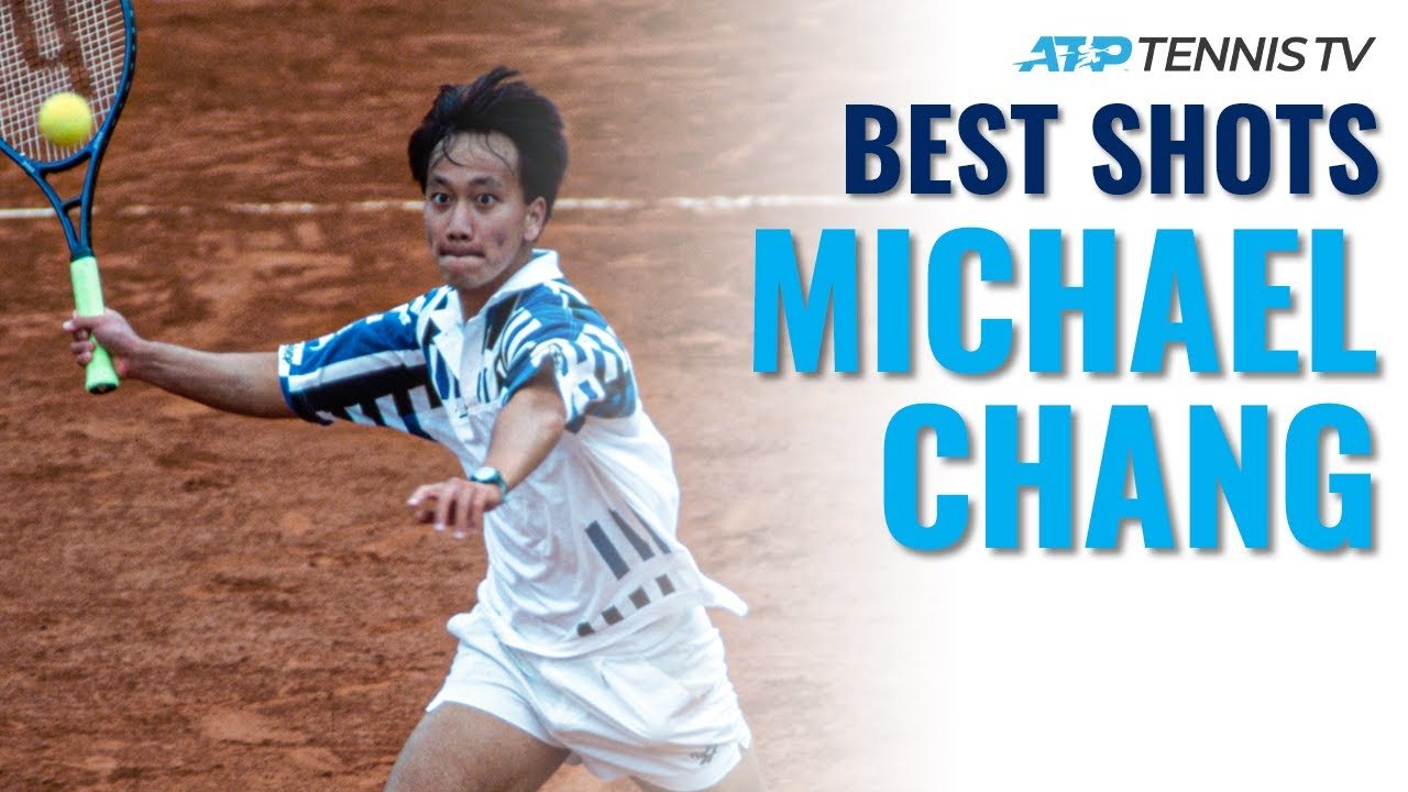 Michael Chang: Amazing ATP Tennis Highlight Reel!