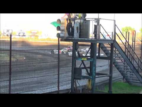 LMSS TOURING SERIES HEAT 2 NOBLES COUNTY SPEEDWAY AUGUST 14,2016