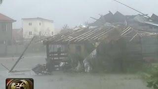 24 Oras: Bataan, hinambalos din ng Bagyong Glenda