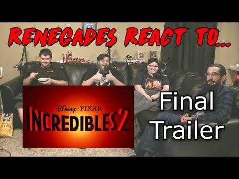 Renegades React to... Incredibles 2 - Official Trailer