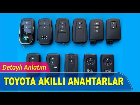 Toyota Akıllı Anahtar Yapımı   Yedek Kopyalama - Oto Anahtarcı İstanbul