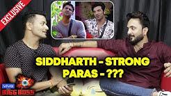 Bigg Boss 13: Siddharth Shukla STRONG Hai Aur Paras.   Bigg Boss 12 Fame Saurabh Patel Interview