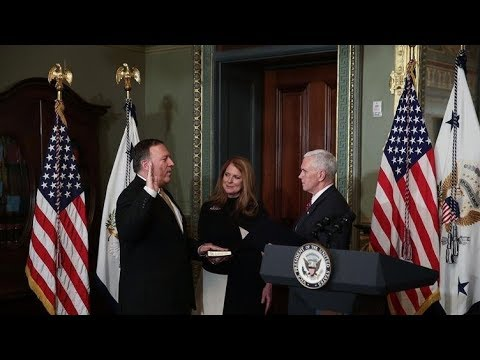 CIA DIRECTOR POMPEO APPOINTED AS NEW SECRATARY OF STATE