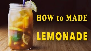 Homemade Lemonade Recipe / Домашний лимонад / Рецепт