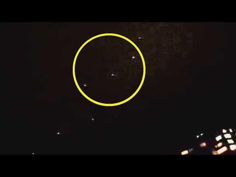 UFO Sighting with Multiple Lights over Odessa, Ukraine - FindingUFO