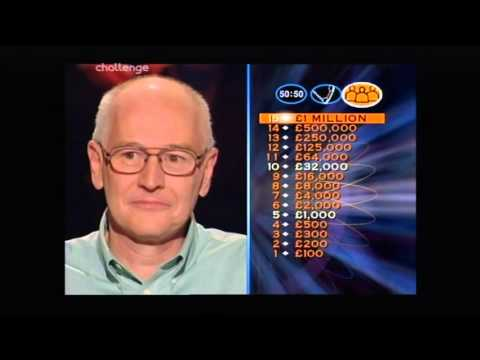 Who Wants to be a Millionaire 20th January 2000