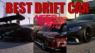 BEST DRIFTING Cars in Need For Speed Payback