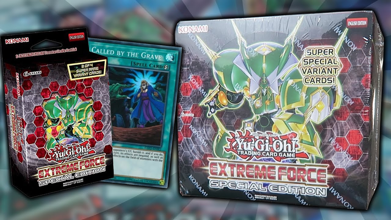 Best Yugioh Extreme Force Special Edition Box Opening X30 Extreme Force Booster Packs