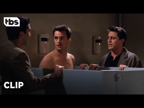 Friends: Chandler Wears Panties (Season 2 Clip) | TBS