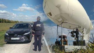 ГИБДД Татарстана ловит нарушителей на трассах с помощью аэростата