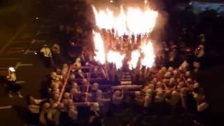 僧兵まつり 火炎みこし