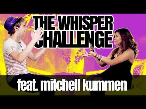 THE WHISPER CHALLENGE feat. Mitchell Kummen ☺ RIA JADE