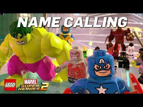 LEGO Marvel Super Heroes 2 Name Calling Game Trailer