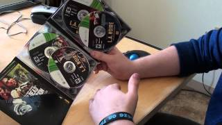 Unboxing LA Noire complete edition for XBOX 360
