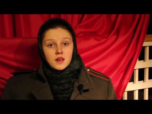 Изображение предпросмотра прочтения – ВасилисаЛаппо читает произведение «Первое письмо на Каму» (Берггольц Ольга)