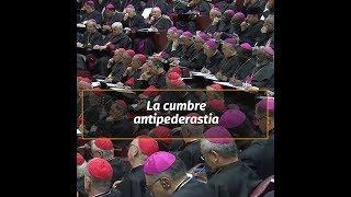 El papa Francisco abrió la histórica cumbre sobre la pederastia