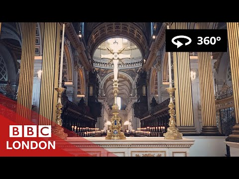 360 Video: Inside St Paul's Cathedral - BBC London